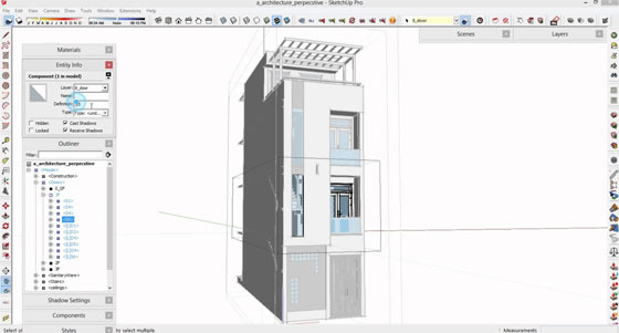 Sketchup Bill Of Materials  How To Make A Bill Of Material In Sketchup