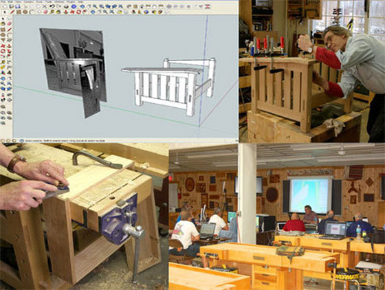 Bob Lang is conducting two days classes on Sketchup