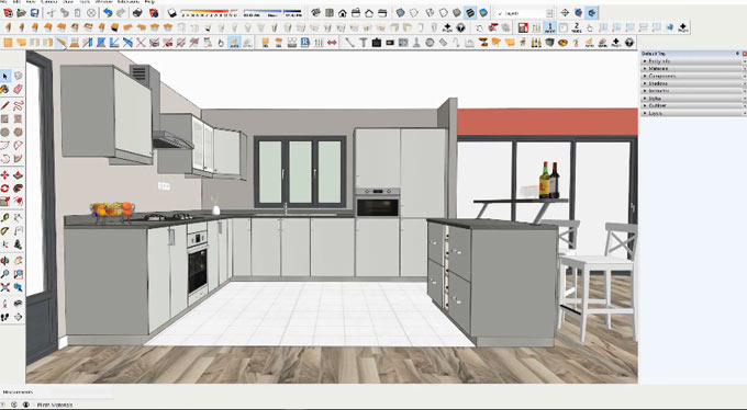 Click-Kitchen 2  - An exclusive plugin for instant kitchen design