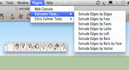 Sketchup Extrude Tools