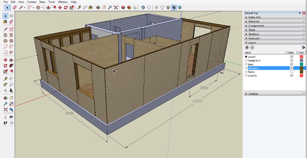 Google Sketchup Home Design Tutorial