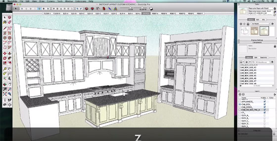 Sketchup Kitchen Tutorial How To Design A Kitchen In Sketchup