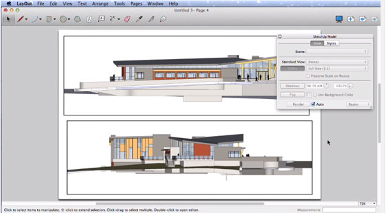 Sharpen your knowledge with Layout in Sketchup Pro