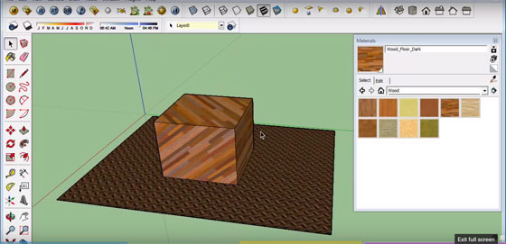 How to customize your sketchup materials