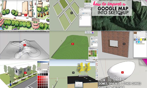 A series of sketchup online tutorials to become expert in sketchup