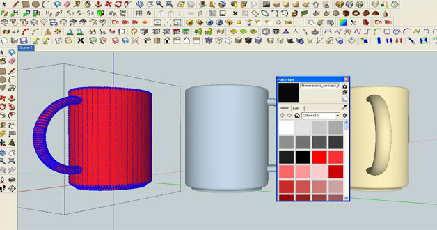 Sketchup Paint Bucket Customized Textures