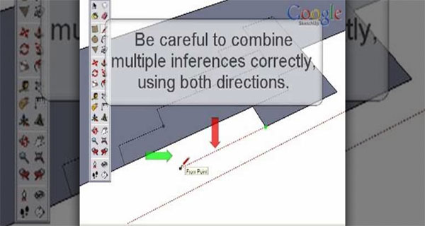 Sketchup - Point Inferences