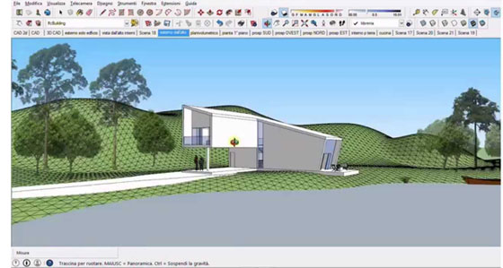 Brief overview of various features of Sketchup Pro 2015
