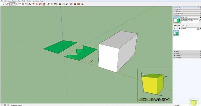 How Sketchup Pro 2016 can be used to make face & resolve issues with faces