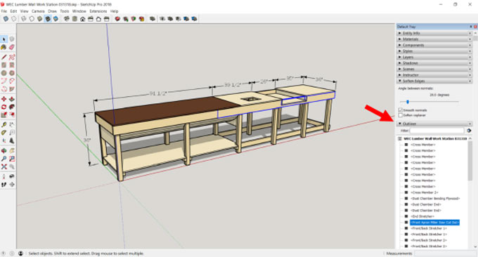 Highlights of three SketchUp Projects