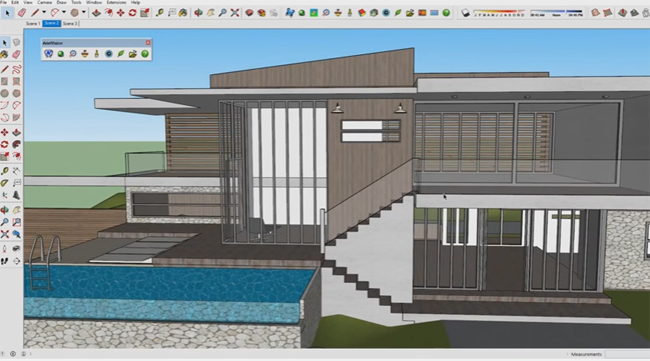 How to produce realistic rendering of any sketchup model with ArielVisison