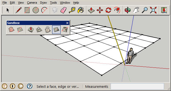 Some useful sketchup tips on sketchup sandbox tools