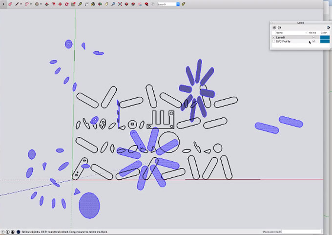 SVG Face Export - compatible with Shaper Origin – The newest sketchup extension