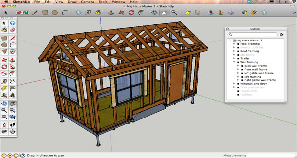 Sketchup Tiny House Design Lesson 2
