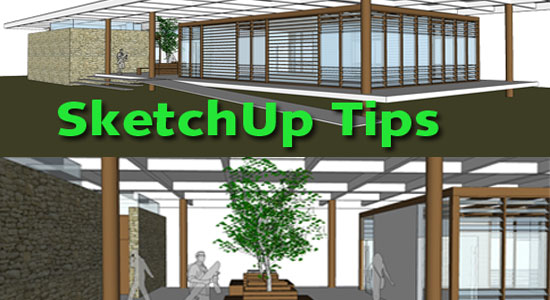 Some useful tips for obtaining superior images from Sketchup
