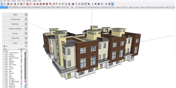 SketchUp Workflow for Architecture Scrapbooks