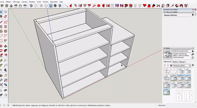 Box is a useful sketchup plugin for woodworking professionals