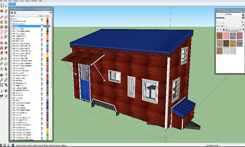 Tiny House Design Sketchup