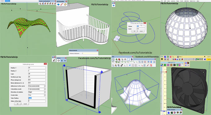 Some handy sketchup plugins for the architects