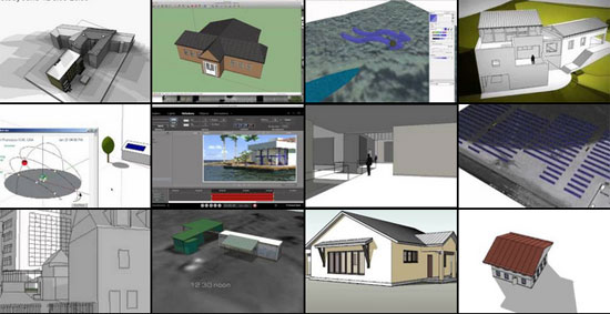 Learn the solar study animation with sketchup