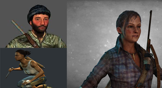How to create 3D modeling & texturing of a survivor with Maya, Mudbox & Photoshop