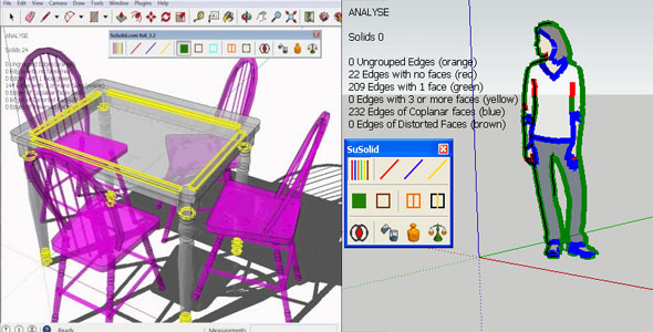 SuSolid 2.2 for Sketchup