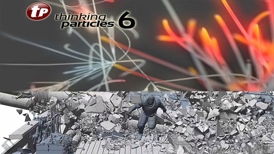 Cebas has unveiled the trail version of thinkingParticles 6