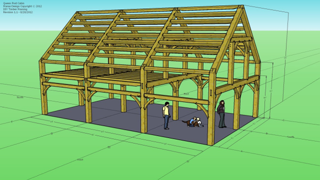 Timber Framing Extensions for sketchup