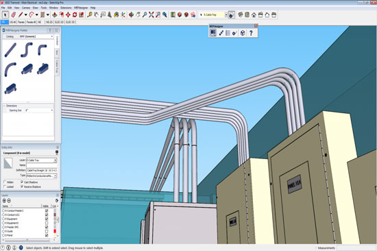 Trimble MEPdesigner for SketchUp 2.0