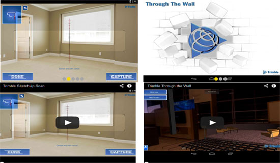Trimble launched two New Concept Applications alias Sketchup Scan