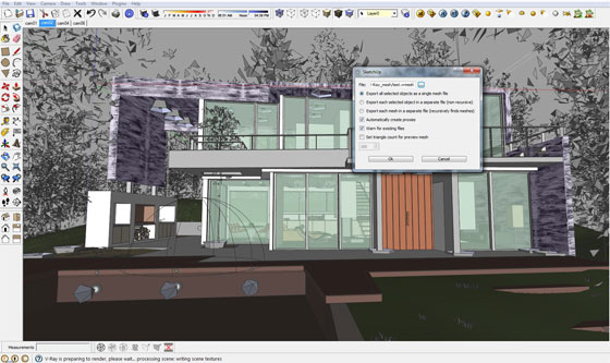 V-Ray 2.0 for Sketchup SP2