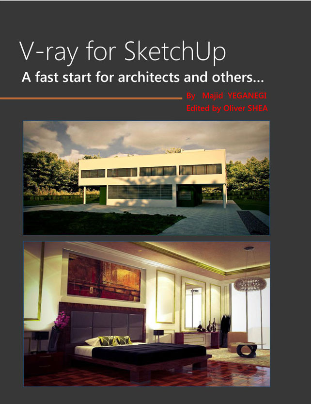 V-ray for sketchup - Fast start for architects