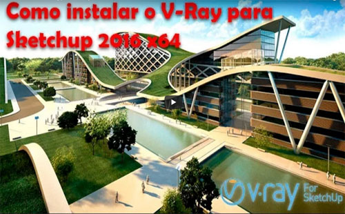 How to set up V-ray 2.0 in sketchup 2016