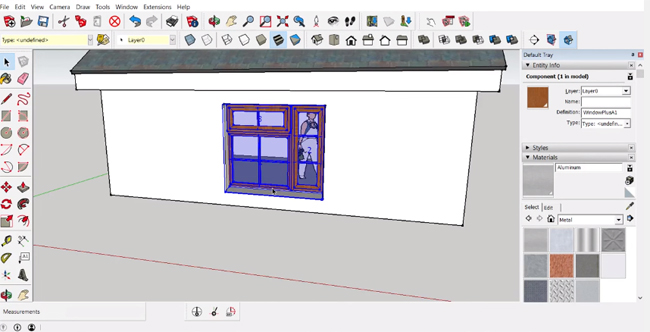 Window+ is a powerful sketchup extension to create & edit windows in building models