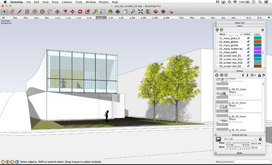Designer with SketchUp – do not forget these features