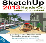 An useful course book for students - Sketchup 2013 hands on