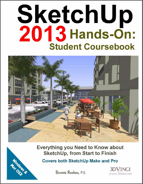SketchUp e-Books : An useful course book for students