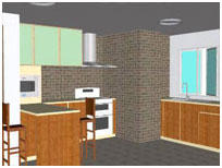 Sketchup kitchen components Kitchen design software google sketchup