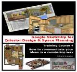 Google Sketchup for Interior Design and Space Planning