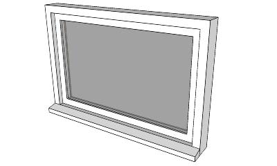 Sketchup components 3d awning window models for Sketchup door