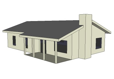 The 3d Ranch House Small