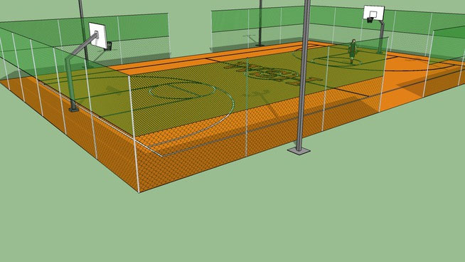 Sketchup components 3d warehouse outdoor basketball court for Outdoor furniture 3d warehouse