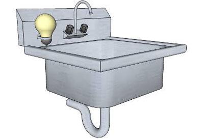 Sketchup components 3d warehouse bath hand washing sink for Sketchup bathroom sink