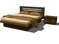 Bed Bett in SketchUp