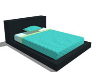 Blu Dot Full Bed