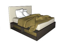 Cama Com Box Bed