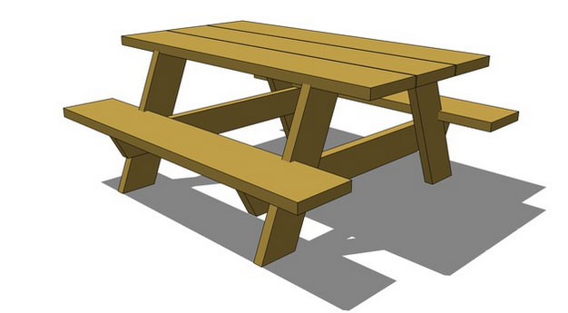 Bench model design in sketchup free 3d bench download for Table design sketchup
