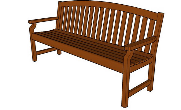 Sketchup components 3d warehouse cumberland 72 bench for Outdoor furniture 3d warehouse