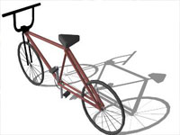 GT Bump Bicycle in Sketchup
