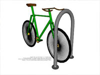 Series Bicycle Rack